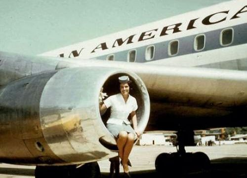 Pan-am-stewardess