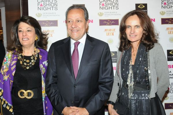 HE the Minister of Trade& Commerce & Mrs.Mounir Abdel Nour with SusanSabet
