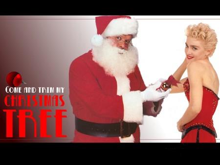Madonna_and_santa_claus_1