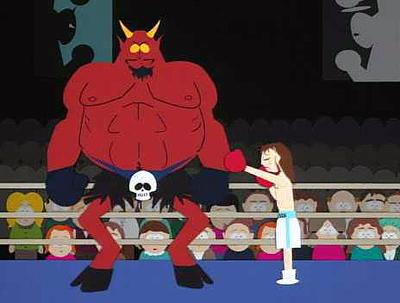 devil jesus south park